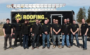 Superb The Crew. AM Roofing ...
