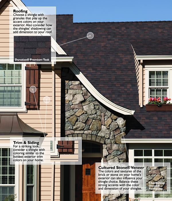 Fiberglass shingles owens corning am roofing solutions for Roofing colors how to choose